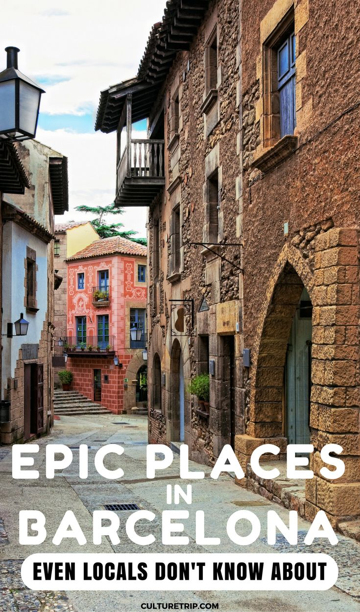 11 Epic Places In Barcelona, Spain. Even Locals Don't Know About | Pinterest: theculturetrip