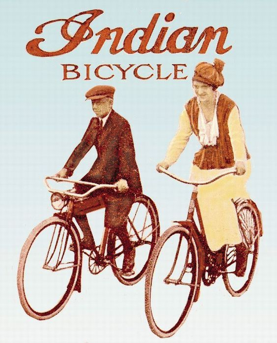 Indian Bicycle ~ Anonym