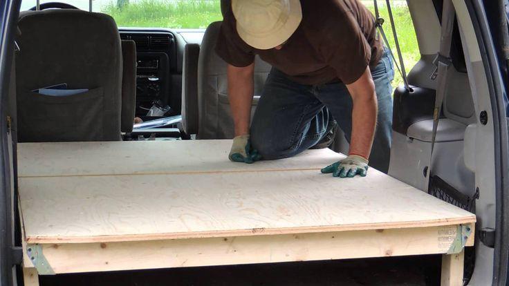 Install Minivan Floor For Camping Minivan Camping