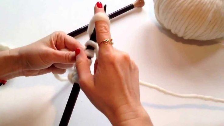 Cómo montar puntos #TheWoolCollection #DIY #knitting
