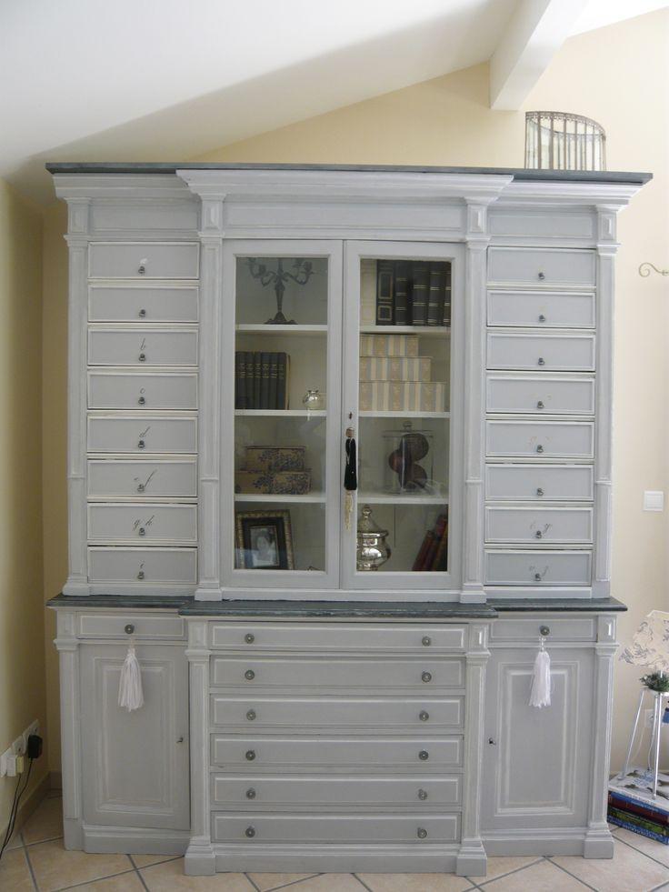 10 images propos de meubles patin s painted furniture for Meubles patines