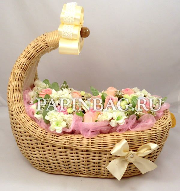 Babybouquet - present for the birth of a baby