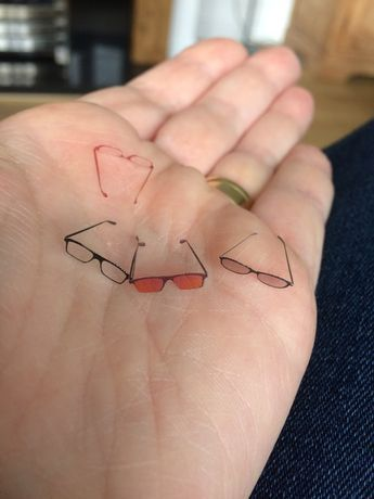 how to design and make miniature spectacles and sunglasses