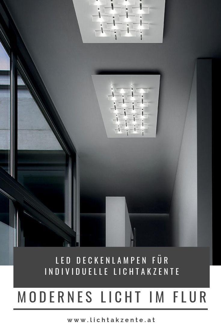 Braga Led Deckenlampe Cristalli Pl80 Deckenlampe Licht Im Flur Led Deckenlampen