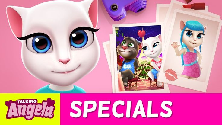 Talking Angela – My NEW Scrapbook  xo, Talking Angela IT'S MY BIRTHDAY! WOOHOO! And to celebrate, I made this super special birthday music video… You might recognize the song…. ;)  #TalkingAngela #MyTalkingAngela #LittleKitties #YouTube #video #scrapbook #happy #cute #specials