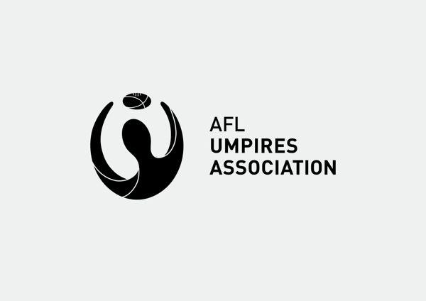 AFL Umpires Association logo by Fletcher Creative. #Logo #Branding #Icon #Identity #Typography