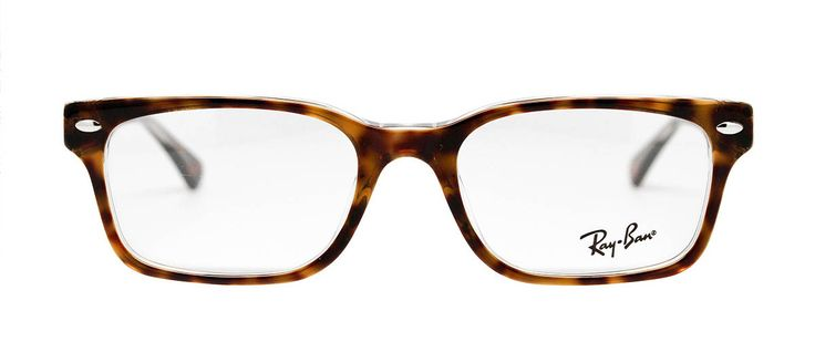 Ray-Ban RX5286 frames offer the classic Ray-Ban look with a few modern updates. These frames are sure to please those looking for a vintage or updated look. Offering added flare with their Havana coloring, and transparent inlay for a touch of attitude. Use Code : NEWG20 for $20 off + Free Shipping #glasses