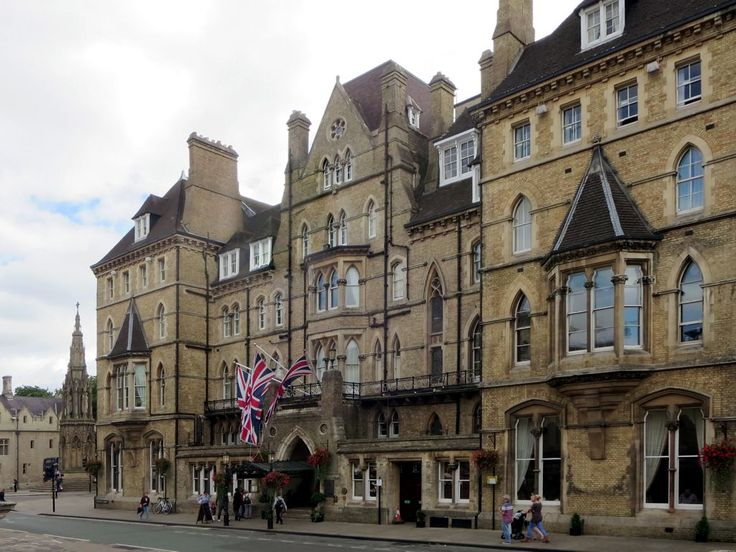 "The Macdonald Randolph Hotel in Oxford, England, houses the ""Morse Bar"" often featured in the British TV series Inspector Morse."