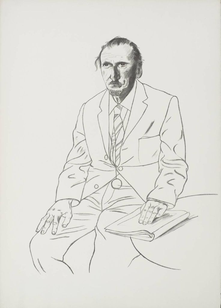 David Hockney, Connoisseur, 1969