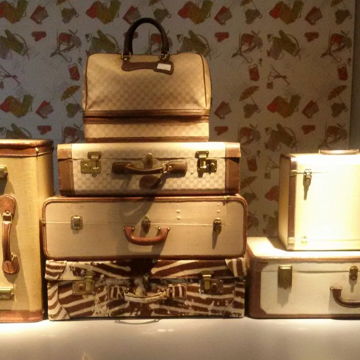 Questo set di valigie per me, grazie! Gucci Museum