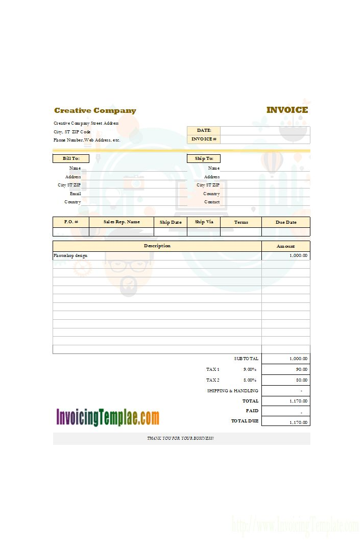 The 25+ best Invoice sample ideas on Pinterest Freelance invoice - how to create an invoice in word