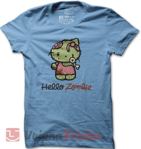 http://www.vtipnatricka.cz/panske-tricko-hello-kitty-zombie/ Pánské tričko Hello Kitty Zombie | VtipnaTricka.cz