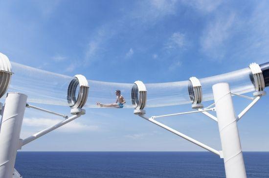 #MSCKreuzfahrten #Entertainment #Vertigo #Wasserrutsche #Rekord