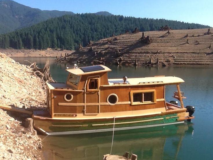 Waterwoody Houseboat Haulin Ass Pinterest Boat