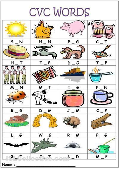 Letter L Words Worksheets