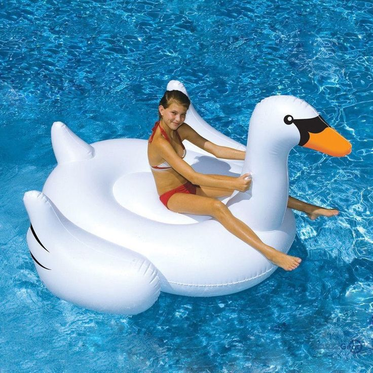 White Swan Summer Swimming Pool Lounge Float Inflatable Swan Giant Rideable Pool Water Lake Kid Toys  #beach #beer #weekend #bartender #nightlife #salboken #cocktail #barrescue #mancave #barzz @barzz