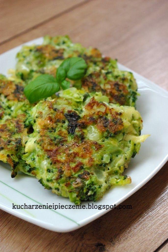 Placki brokułowe