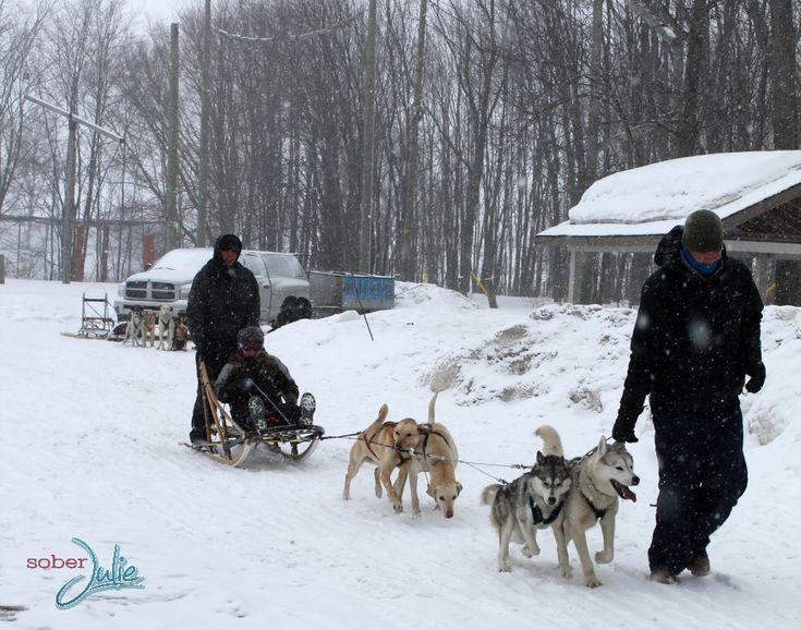Winter at Fern Resort in Ontario #FamilyTravel - Sober Julie