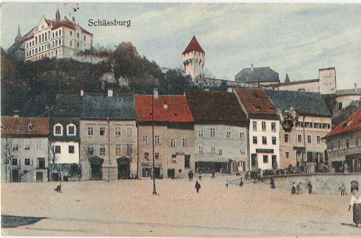 Sighisoara - Piata la 1916