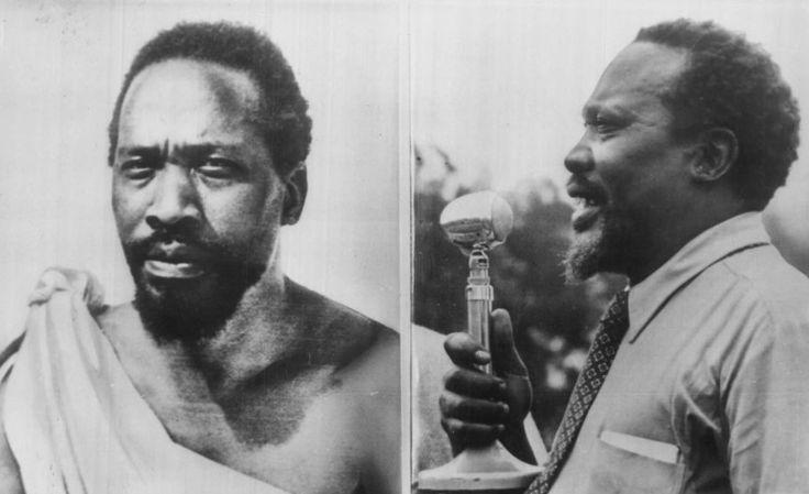 Jomo Kenyatta   September 10, 1961 Jomo Kenyatta returns to Kenya from exile to lead his country