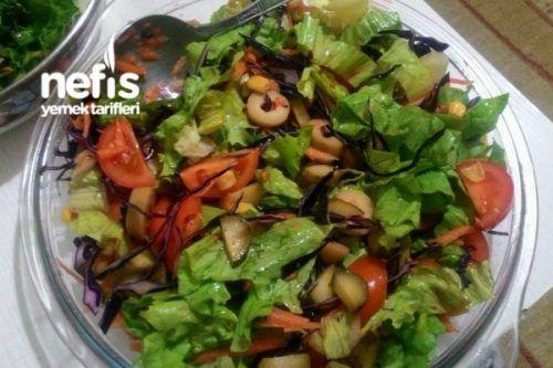 Efsane Akdeniz Salatası Tarifi