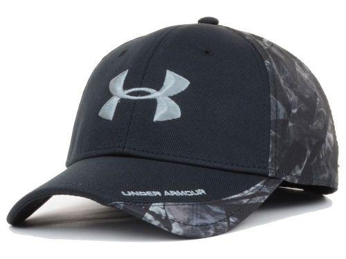 Under Armour Smoke Camo PC Flex Cap Hats