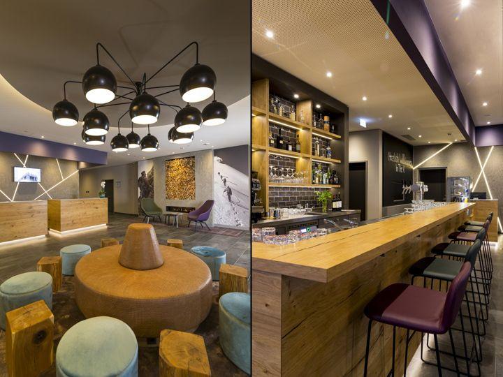 The K Best Western Hotel By Kitzig Interior Design Architecture Group Munich