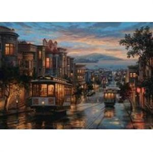 Anatolian 1500 Parça Puzzle - San Francısco Sokakları