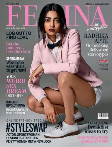 Photo Moment : Radhika Apte Sizzles on Femina Magazine Click Hrer : http://www.hdwallposters.com/film-news/photo-moment-radhika-apte-sizzles-on-femina-magazine/