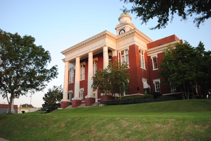 This is our Court House Kosciusko Mississippi