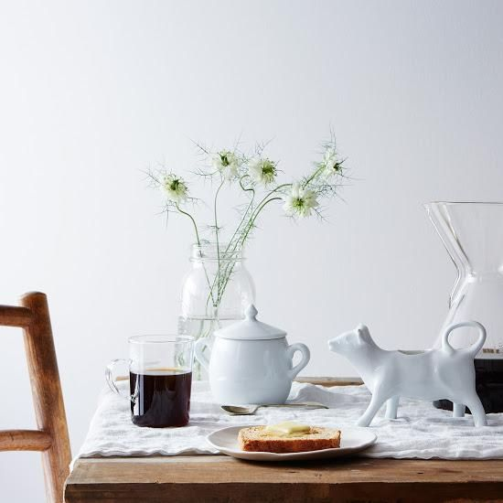 Morning coffee just got cuter with the help of this creamer from the Food52 Shop.