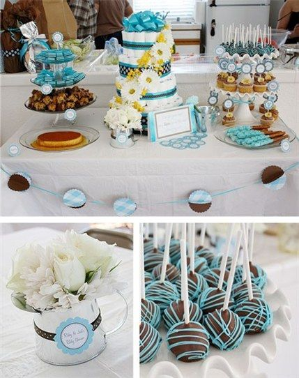 baby shower dessert ideas recipes