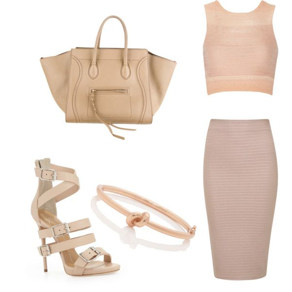 Outfit inspiration - nude monochrome