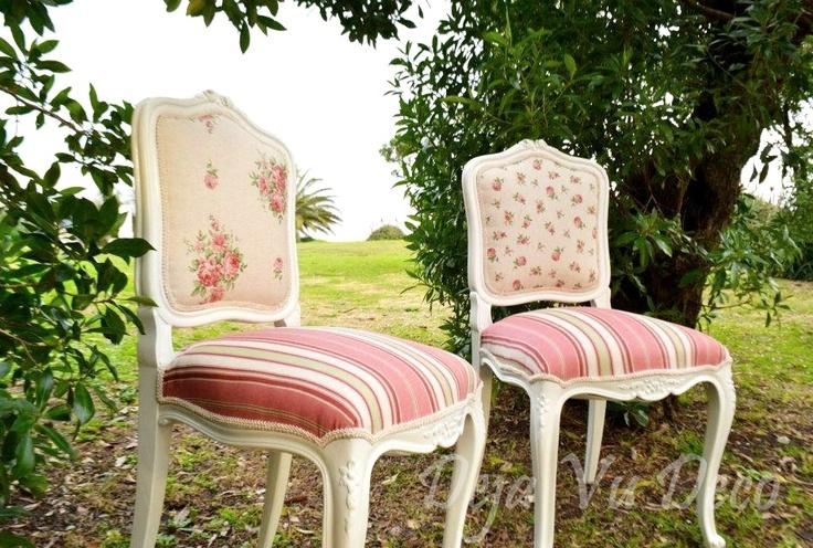 Par de sillas Luis XV