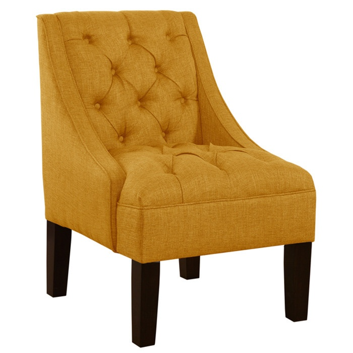 Lindsey Accent Chair in French Yellow
