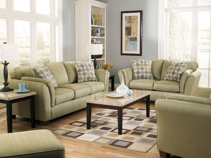 Charming Sloan Citrus Sofa U0026 Loveseat #sofa #loveseat #livingroom #rana  #ranafurniture #