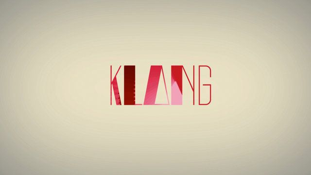 KLANG by Amelie Tourangeau. My Bachelor's final project: