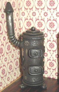 Melinda's Miniaturen und Hexenstube (Alles rund um Miniaturen und Puppenstuben 1:12) wood stove tutorial