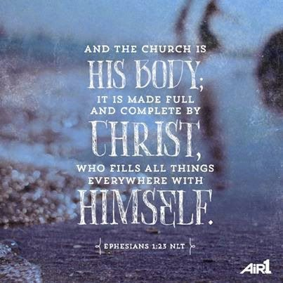 Ephesians 1:23 #Bible #verse @Air1 Radio