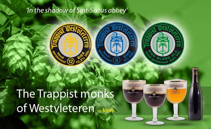 WESTVLETEREN Trappist beer: In de Vrede