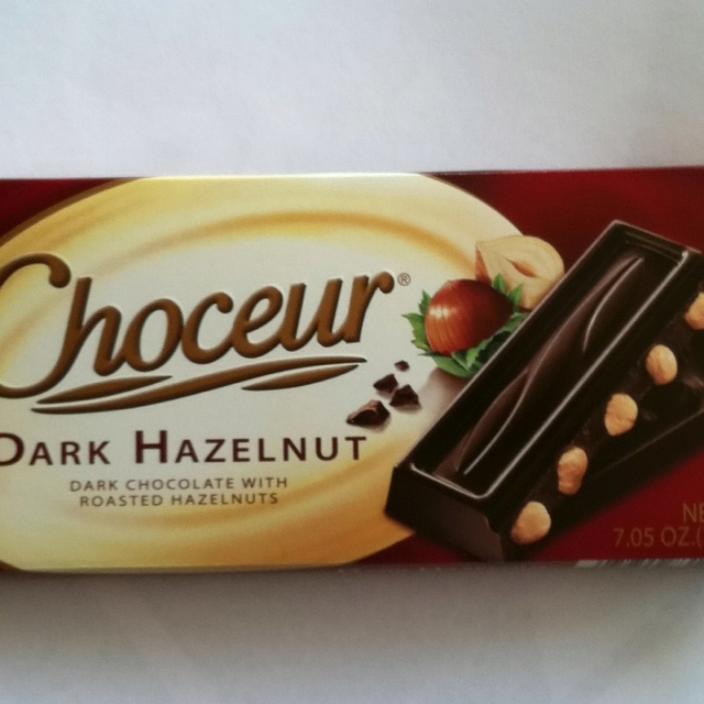 A delicious dark chocolate bar from Aldi's. Want also :D ...