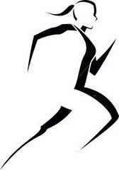 Running tattoo I may get this one  but add 26,2  small with purple ink and *Dont Quit""