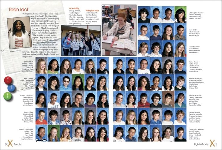 Basement Editorial | Middle School Yearbooks | Josh Mosey  |Find Middle School Yearbooks