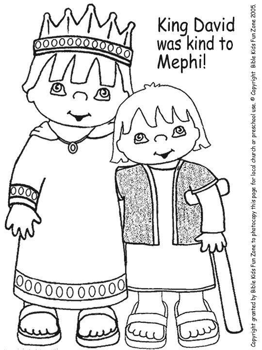 mephibosheth for preschool