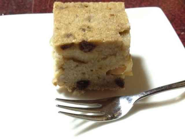 マクロビ:簡単 りんごとおからのケーキの画像