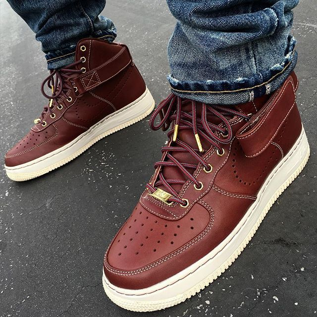 "huge discount 4dbfc 0d703 Nike Air Force 1 High Supreme QS ""Work Boot"""