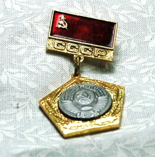 Include old military pin on name placard.