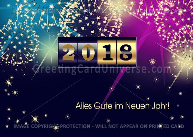 Alles Gute Im Neuen Jahr 2020 New Year Rsquo S Card In German Card Ad Sponsored Neuen Jahr Im In 2020 Presentation Design Social Media Logos Cards