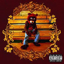 """So proud of my iTunes for pulling out """"Breathe In Breathe Out"""" from """"The College Dropout"""" by Kanye West. Released in 2004 The College Dropout was Kanye's debut studio work and personally I feel its his best work alongside My Beautiful Dark Twisted Fantasy."""