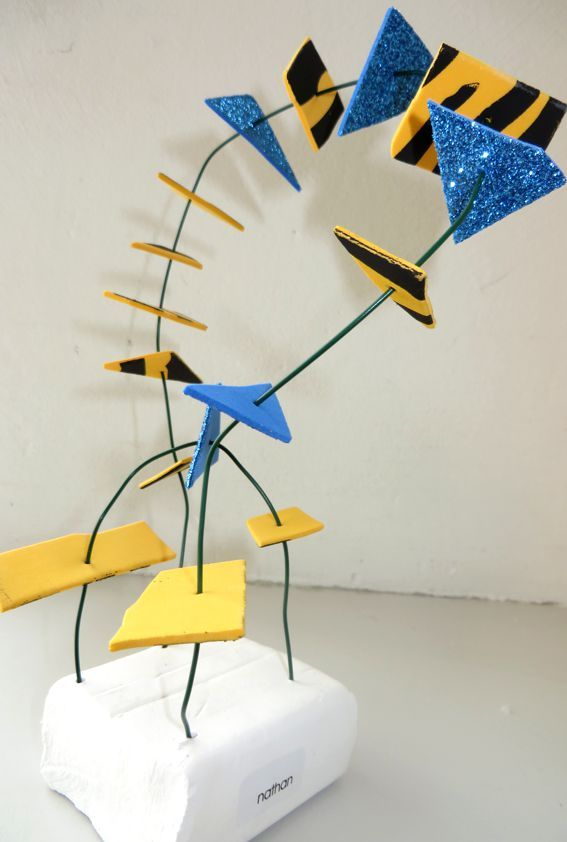 Kunstwerk, thema kunst voor kleuters, kleuteridee.nl , Art theme preschool 3